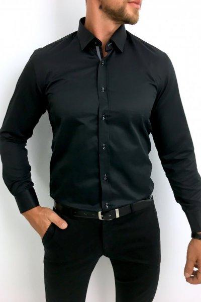 Koszula czarna klasyczna