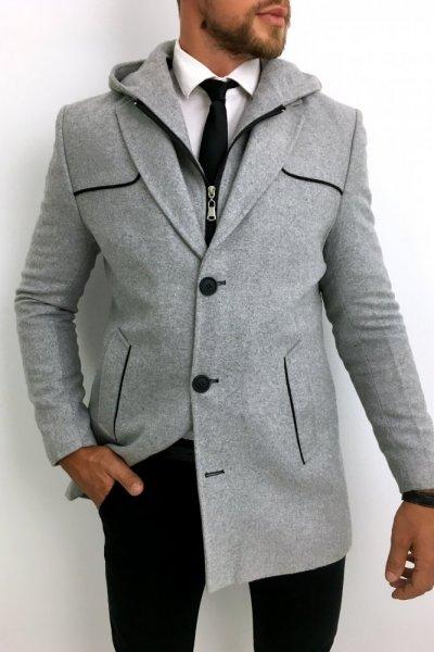 Płaszcz szary Huzar H5