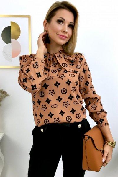 Koszula LUI - camel