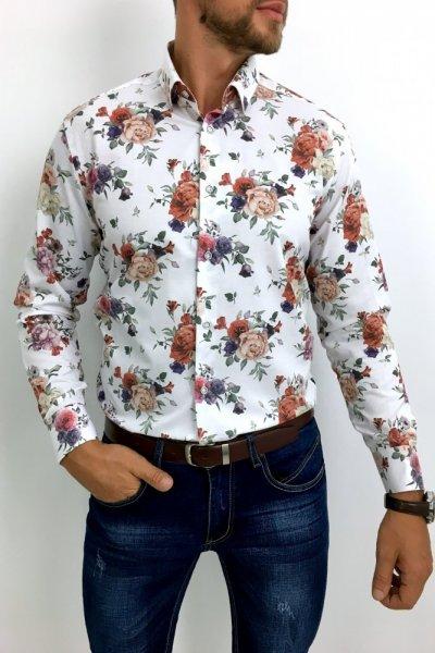 Koszula męska w kwiaty Flowers 19