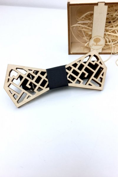 Mucha drewniana wzór H3
