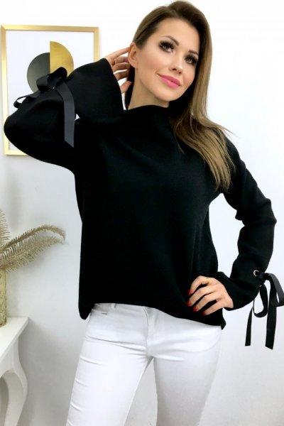 Sweter LUX - czarny