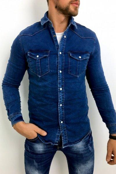Koszula jeans KS22-288