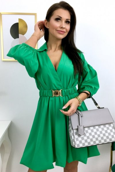 Sukienka VERONA - green