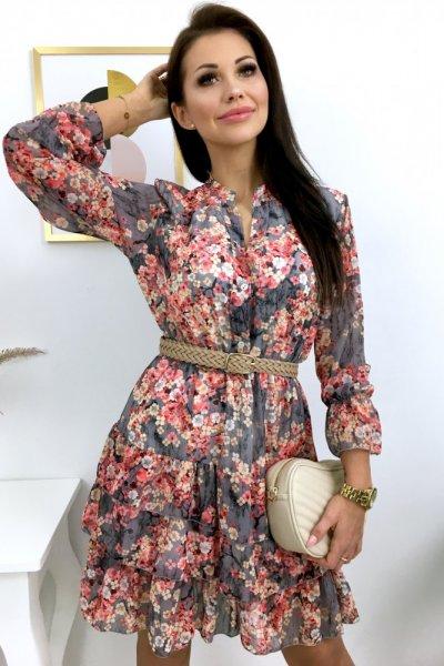 Sukienka MELANIA - grey
