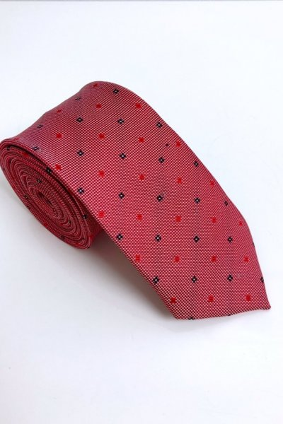 Krawat męski drobny wzór