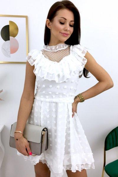 Sukienka IMPERIAL - white