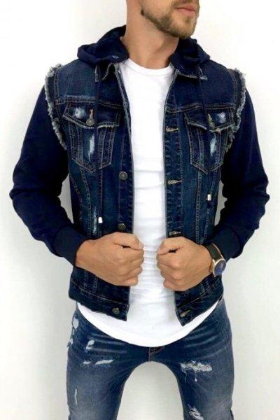 Kurtka Jeans Granat AC9020