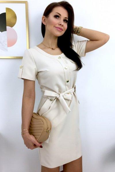 Sukienka VIOLA 3 - beige