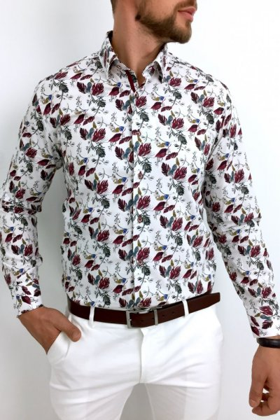 Koszula męska Leaves 2