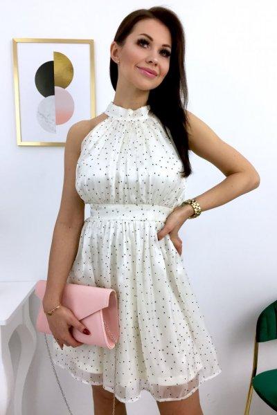 Sukienka MARYLIN - ecru