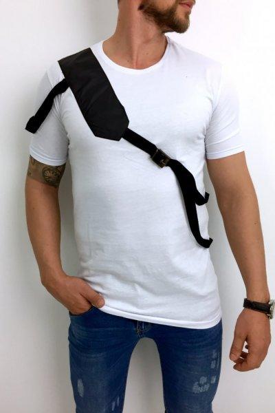 T shirt męski 20-Y284 biały