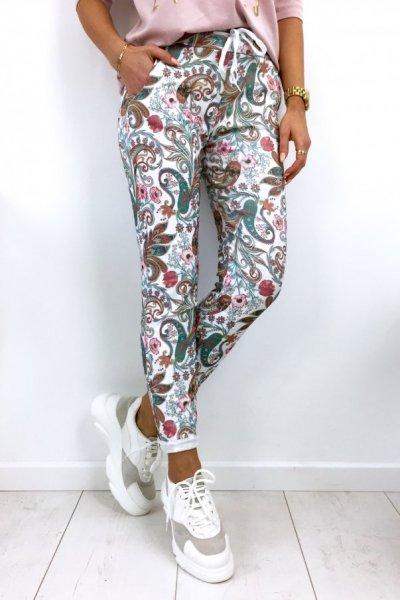 Spodnie BAGGY print - mix color