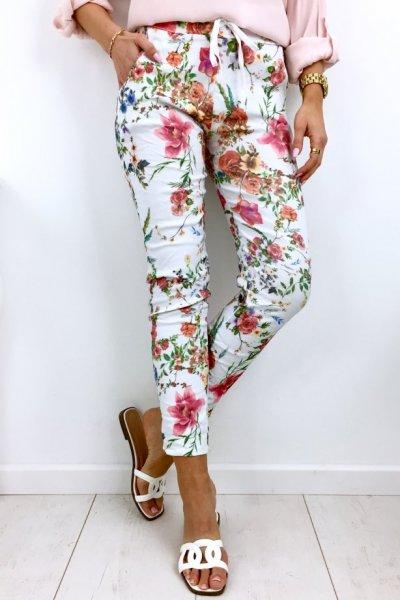 Spodnie BAGGY Flowers 1