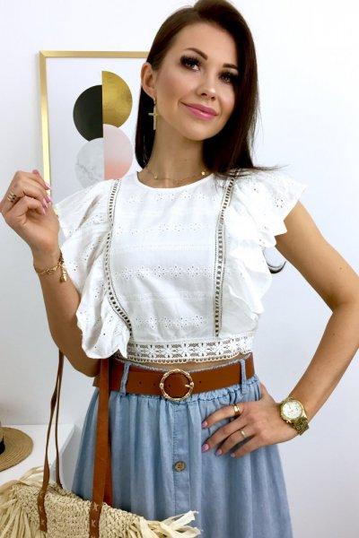 Bluzka MAY - white