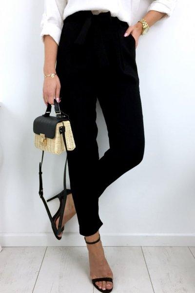 Spodnie SENSATION summer - black