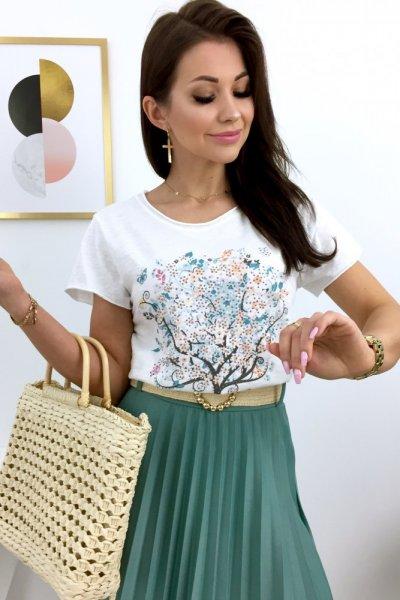 T - shirt THREE - white