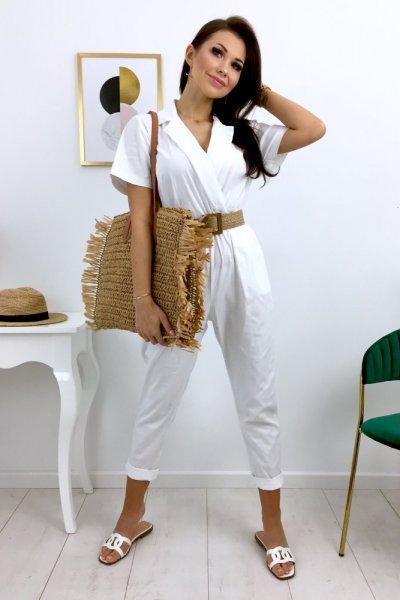 Kombinezon SAFARI - white