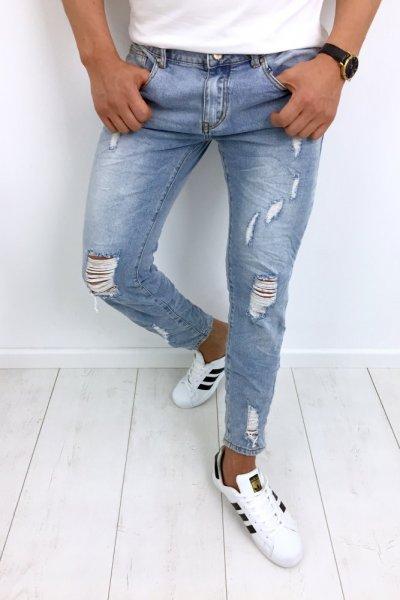 Spodnie męskie jeans YB253B
