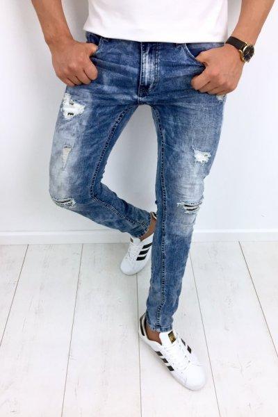 Spodnie męskie jeans WE1451