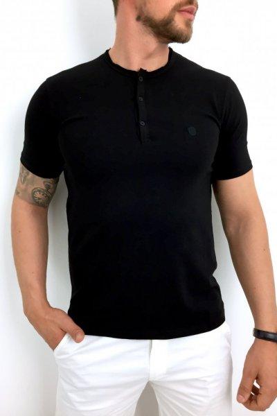 T shirt męski czarny