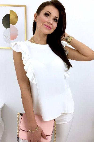 Bluzka NOVA motylek - white