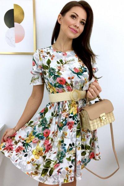 Sukienka VERRA - multicolor