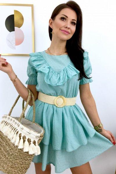 Sukienka SAJJO - mint