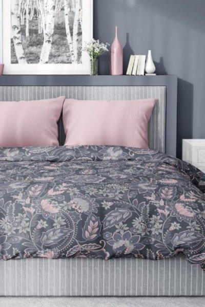 Pościel Bawełna Satynowa 160x200 - Różowe Kwiaty