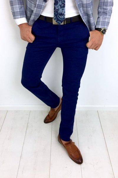 Spodnie męskie materiałowe - CHABROWE H06