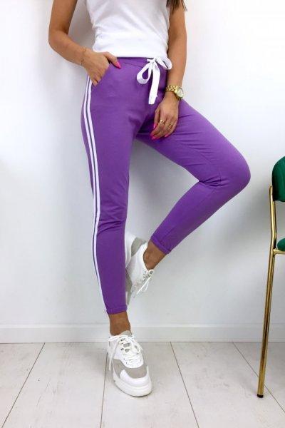 Spodnie dresowe MOTION - lila