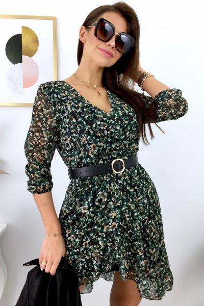 Sukienka MINI MARINA - green