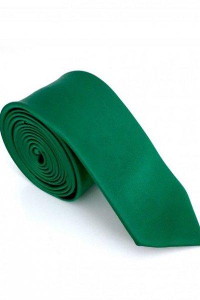 Krawat męski zielony