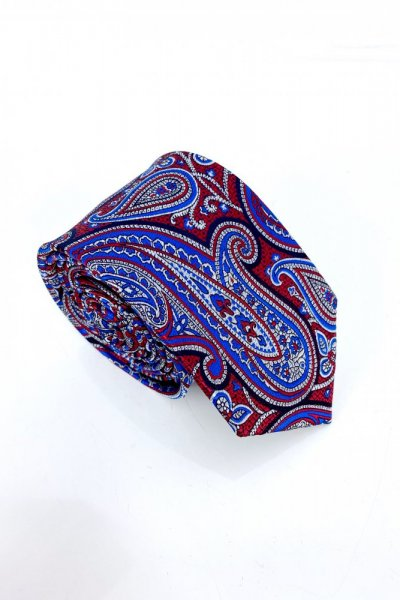 Krawat męski w ornamenty