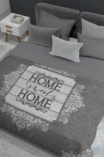 Narzuta dwustronna Home SWEET Home 220x240