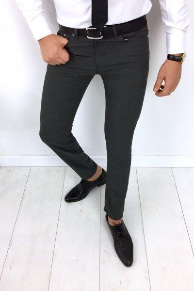 Spodnie męskie H4 grafitowe