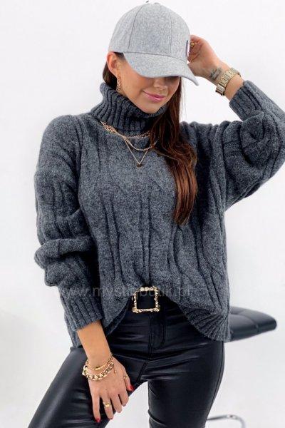 Sweter/golf INGRID - grey