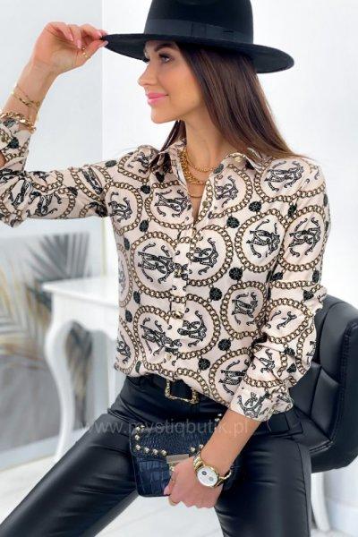 Koszula Carla - beżowa