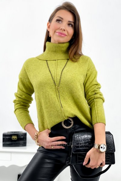 Golf/sweter Marcella - lemon