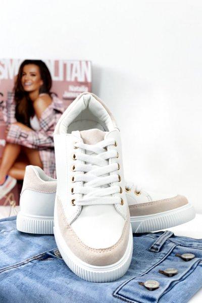 Adidasy - white/beige