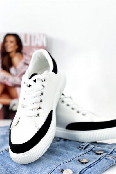Adidasy - white/black