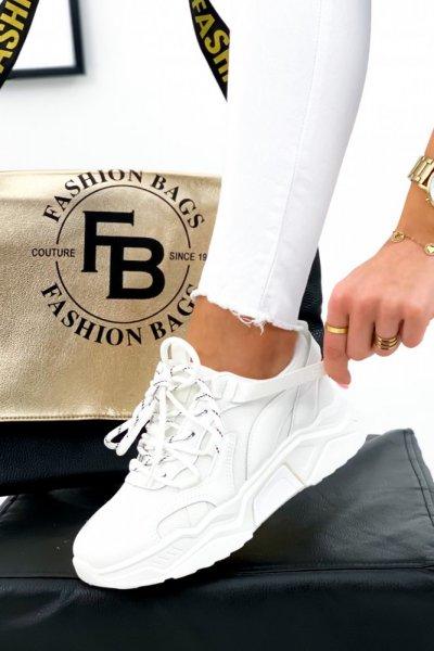 Adidasy/Sneakersy GAJA - white