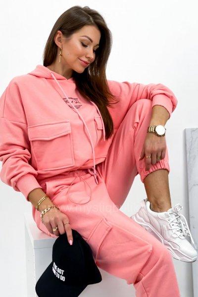 Komplet dresowy - pink