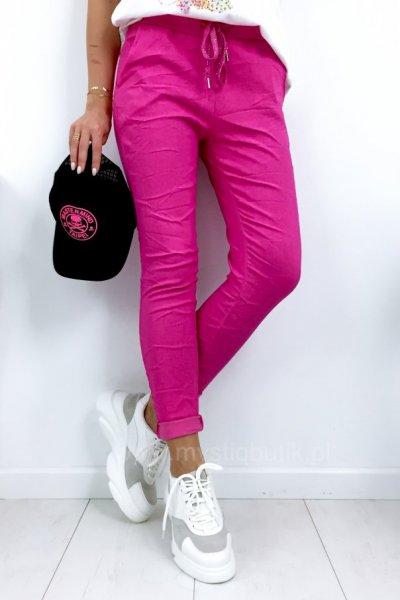 Spodnie BAGGY - fuksja
