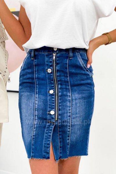 Spódnica jeansowa VERA - blue