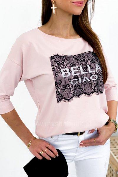 Bluzka Bella - róż