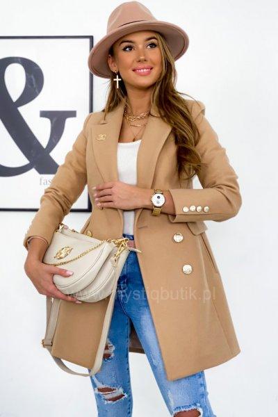 Płaszcz EVE premium - camel