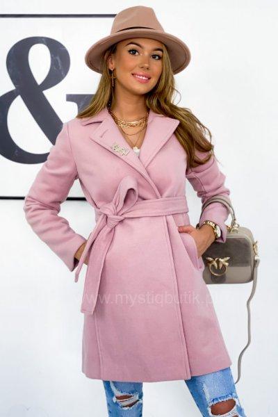 Płaszcz LEILA - pink/lila