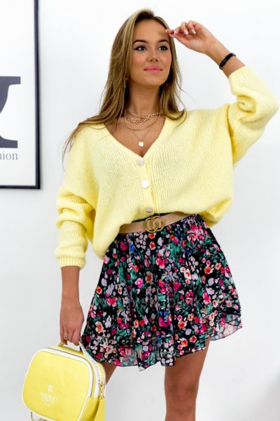 Sweter ELIZABETH - yellow