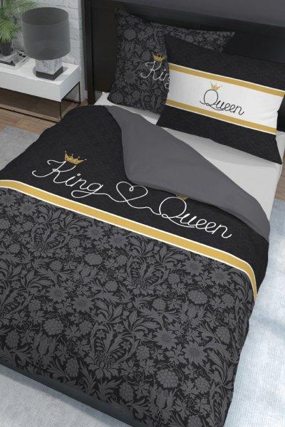 Pościel Holenderska Quin and King - 220x200 - black